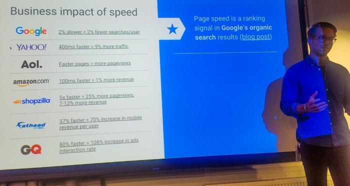 Martin Ramel på Google berättar om hur snabb e-handelssajt rankas högre i Google sök