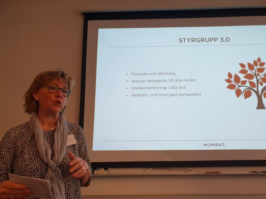 Karin von Knorring berättar om Styrgrupp 3.0