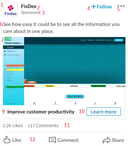 Exempel på en videoannons på LinkedIn