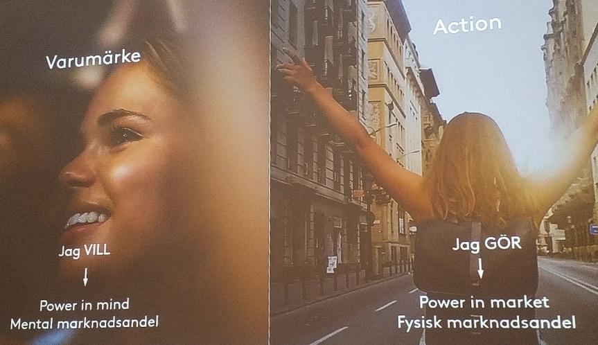 Kampanjer ska säkra både en mental och en fysisk marknadsandel (bild: Kantar SIFO)