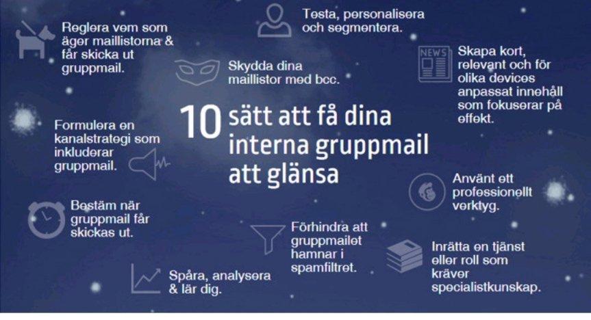 10 snabba tips för effektiva interna gruppmail (källa: Konstantin Irina)
